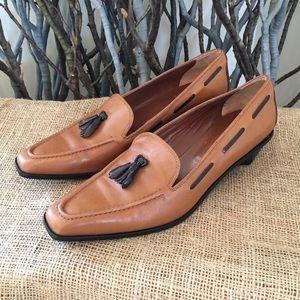 Brooks Brothers Italian Leather Tassel Shoes